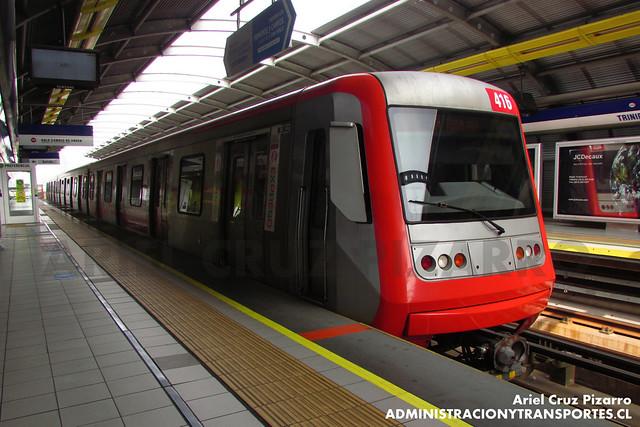 Metro de Santiago - Alstom AS2002 R4416 - Trinidad (L4)