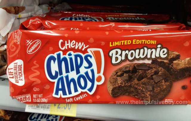 Nabisco Limited Edition Brownie Chewy Chips Ahoy Cookies
