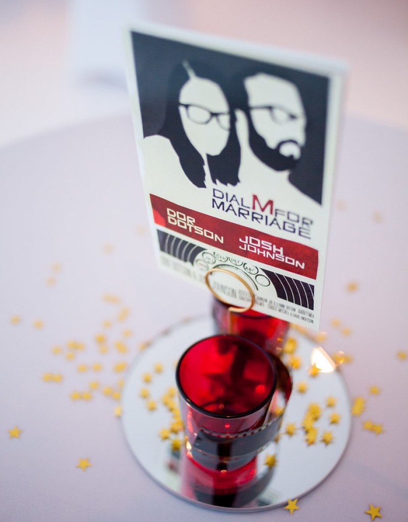 Movie-themed wedding from @offbeatbride