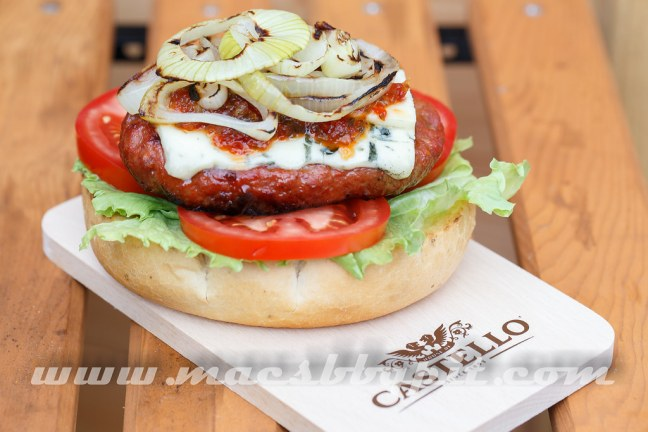 Castello Burger Blue