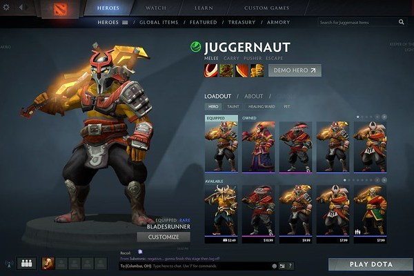 Juggernaut Bladesrunner
