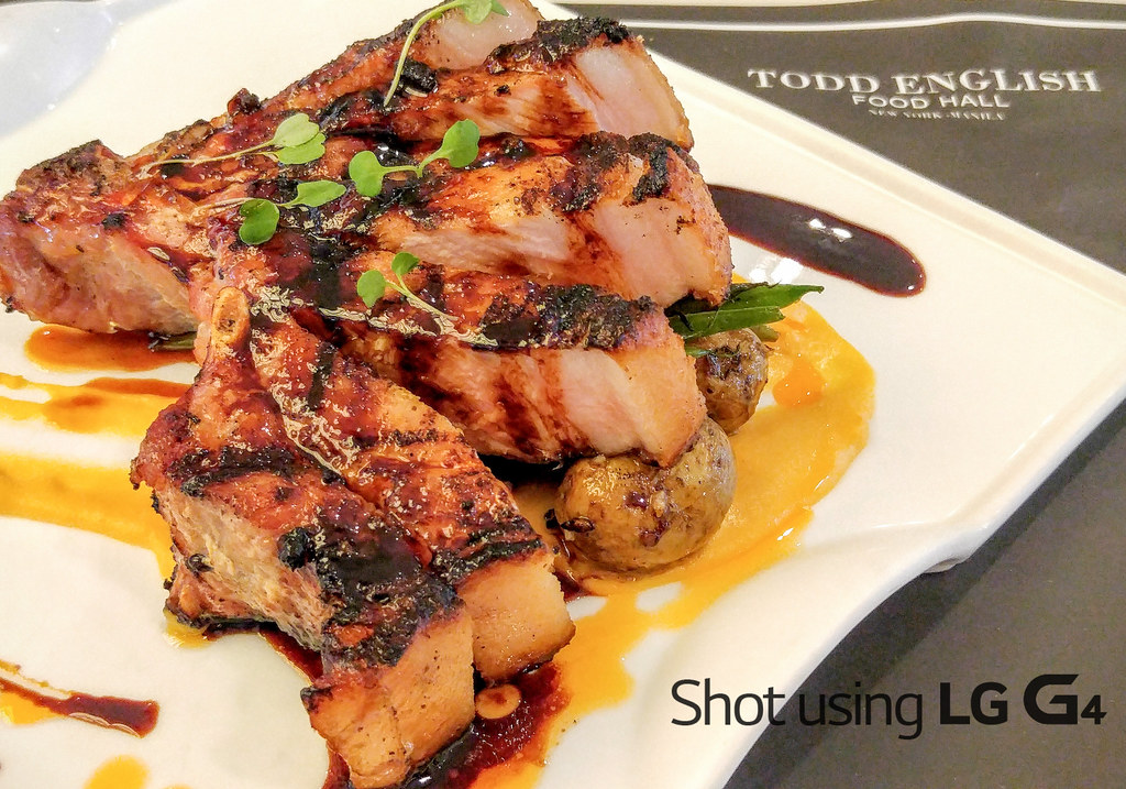 Todd English Pork Chop
