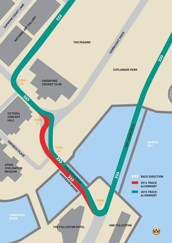 Marina Street Circuit Track Modification Illustration