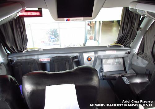 Pullman Tur - Concepción - Marcopolo Paradiso 1800 DD / Scania (FJGT60)