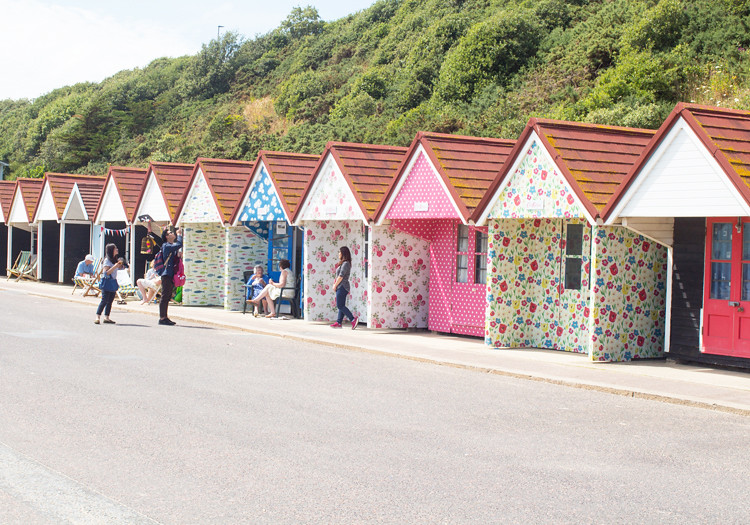 6.Beach Huts Cath Kidston