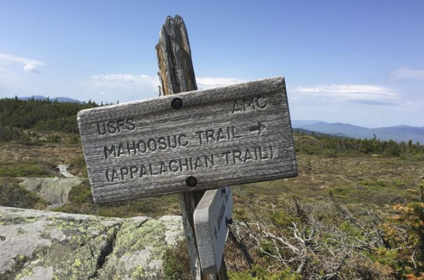 Mt Success Mahoosuc Trail Sign