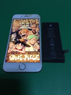 234_iPhone6のバッテリー交換