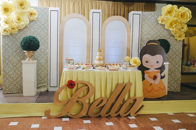 Belle Birthday Party Decorations Simple Bella's Princess Belle Themed Party  3Rd Birthday  Party Doll Manila Design Inspiration
