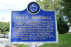 002 Willie Mitchell Marker