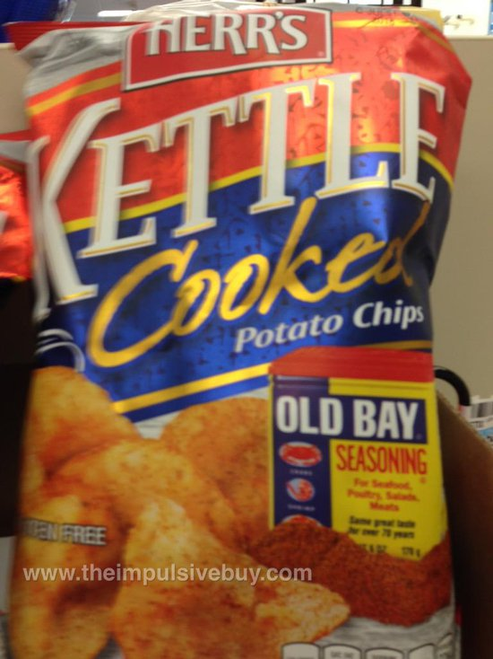 Herr's Old Bay Kettle Cooked Potato Chips