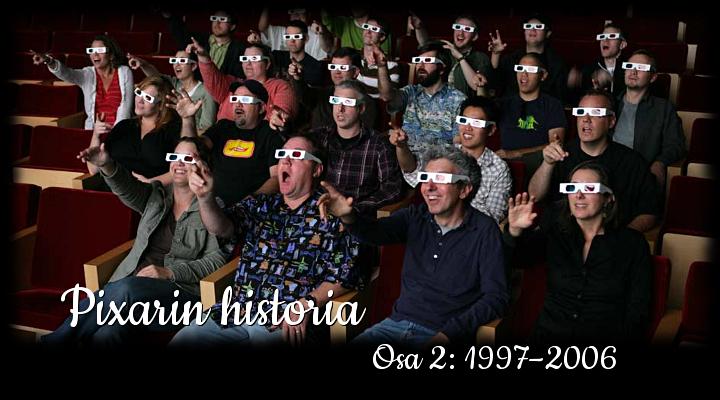 Pixarin historia osa 2 - Disnerd dreams