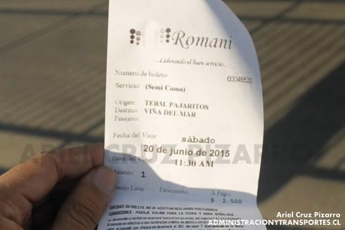 Pasaje - Romani