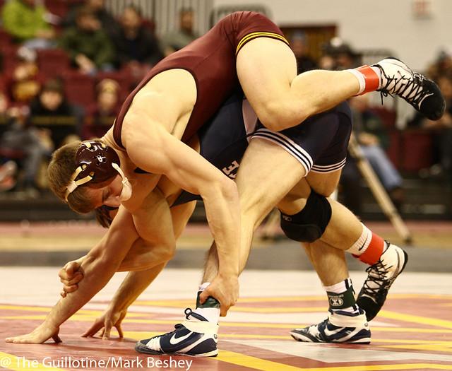 141 #12 Jimmy Gulibon (Penn State) dec. #9 Tommy Thorn (Minnesota) 6-3