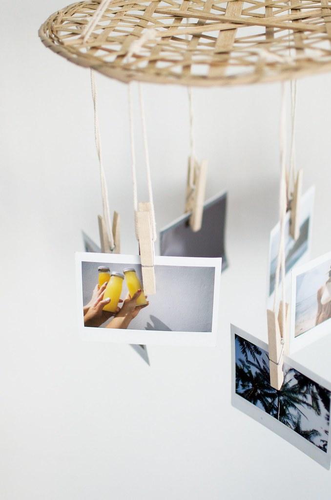 DIY | Haz un bonito móvil como los de los peques pero con fotos