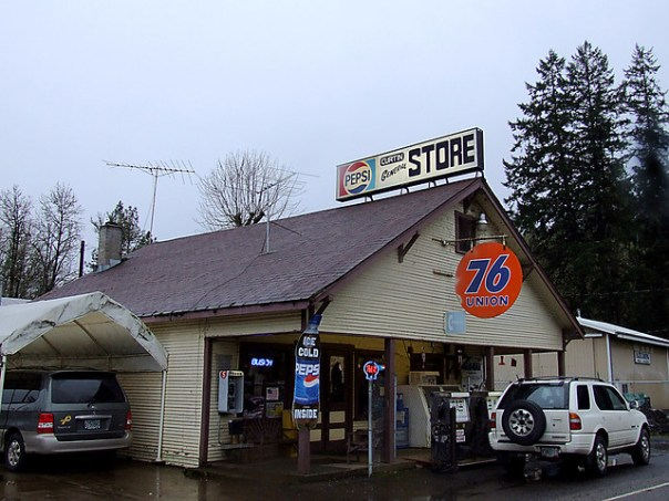 Curtin General Store - Curtin, Oregon U.S.A. - January 9, 2006