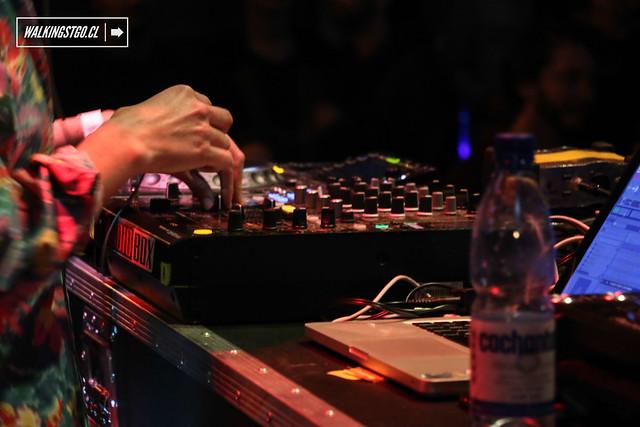 Elisita Punto DJSet en fiesta La Roma en la Ex Oz de Santiago, Review 13.06.2015
