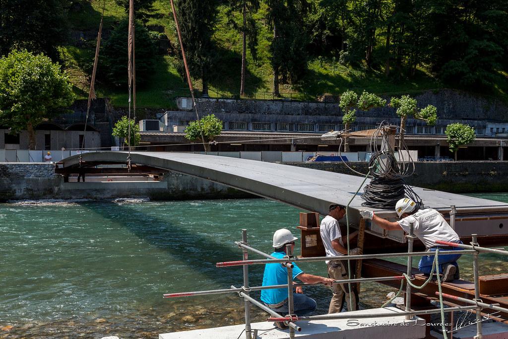 travaux nouveau pont