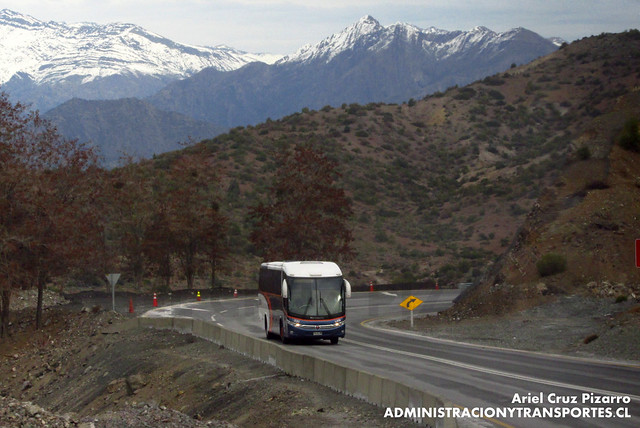Link Services - Carretera del Cobre - Marcopolo Viaggio 1050 / Mercedes Benz