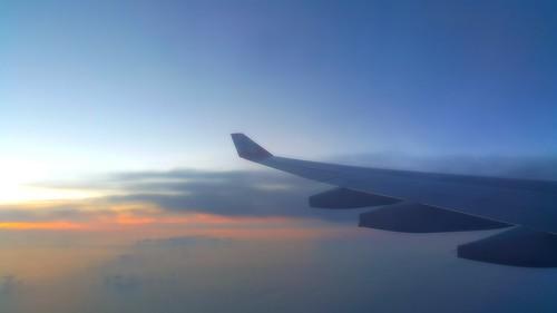 ลัดฟ้า อาทิตย์อัสดง บินสู่โอซาก้า ประเทศญี่ปุ่น