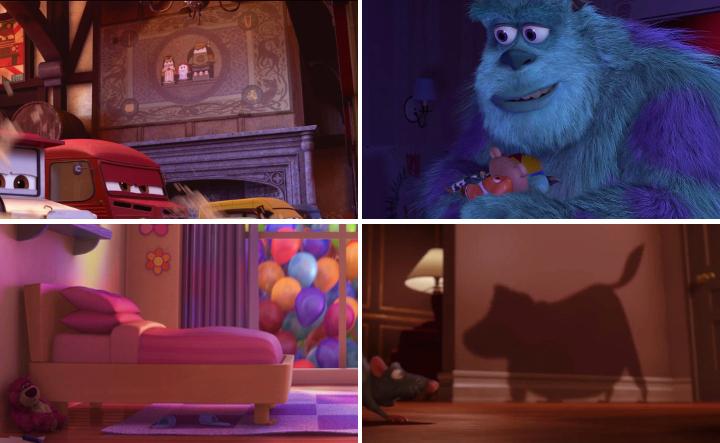 """Pixarin """"easter eggit"""" - Disnerd dreams"""