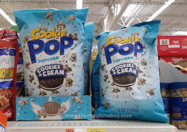 Cookies & Cream Cookie Pop Popcorn