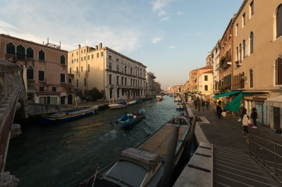 An ordinary day in Venice Italy