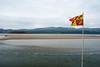 Flag and estuary