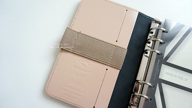 Filofax Overview (Personal/Medium Size, Color Nude)