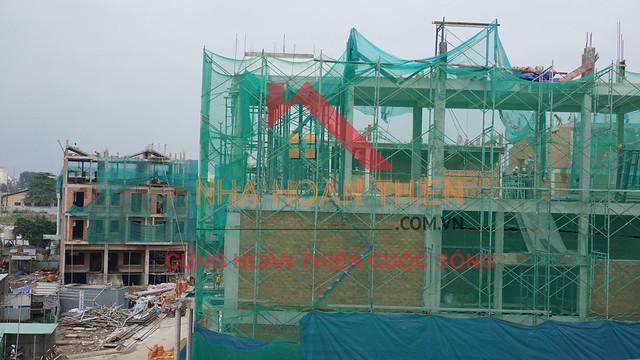 Công Ty Nhà Hoàn Thiện Cập nhật tiến độ xây dựng ở dự án CityLand Park Hills quận Gò Vấp