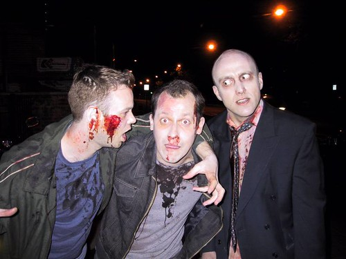 Shaun of the Dead: Graham, Me and James (the casting director)