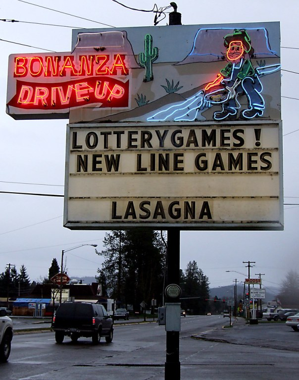 Bonanza Drive-Up - 505 South Goshen-Divide Highway, Cottage Grove, Oregon U.S.A. - January 9, 2006