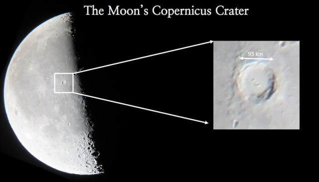 The Moon's Copernicus Crater