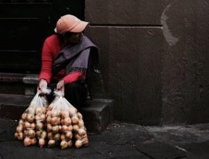 Street vendor - Quito, Ecuador
