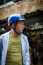 Man with Blue Helmet