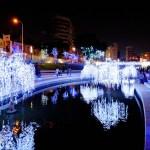 中區夜裡浪漫又閃亮的散步打卡新景點〈台中柳川河岸〉朝聖了沒?整治後的台中柳川河岸空間於16/12/24啟用囉,搭配藝術光景裝置的新柳川河廊好美麗~