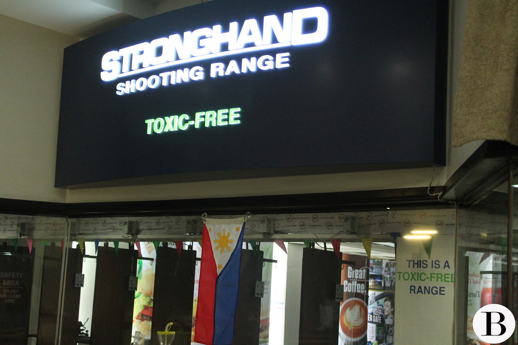STRONGHAND Shooting Range:  A Perfect Gift for Daddy!
