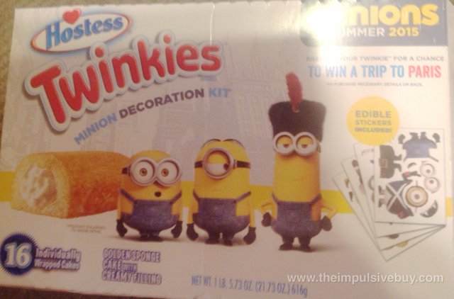 Hostess Twinkies Minion Decoration Kit