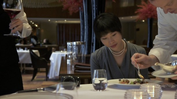 Katie Keiko spends all of her spare change on fine dining, and reviews them on her blog. (Credit: Fortissmo Films)