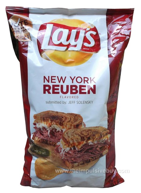 Lay's Do Us a Flavor New York Reuben Potato Chips