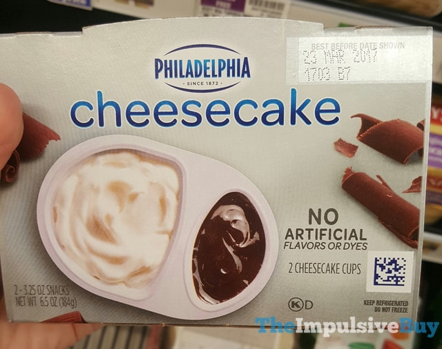 Philadelphia Milk Chocolate Cheesecake Cups