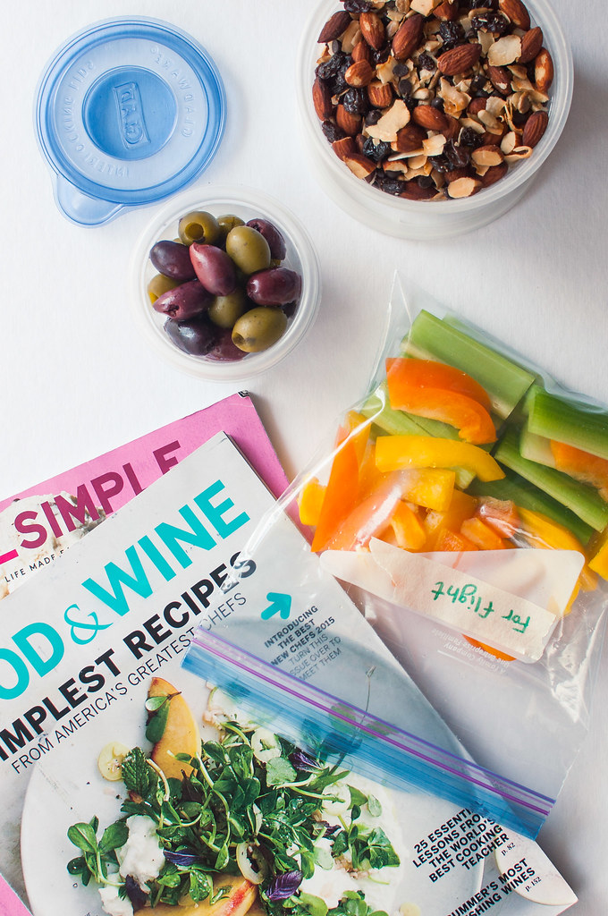10 Ideas for Healthy Travel Snacks - lots of gluten free/vegetarian options!