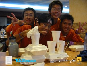 16062003 - FOC.Official.Camp.2003.Dae.1 - Guyz Playin Wif Breakfast.. HeeZ..
