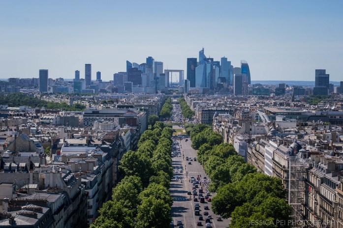 Paris Business Distric Arc de Triomphe