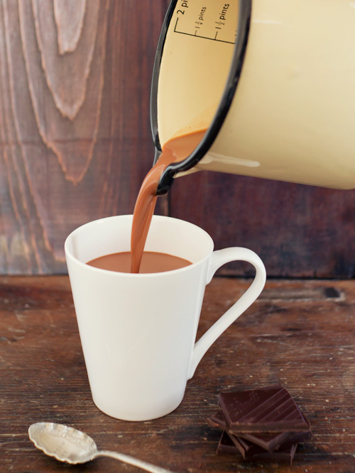 boozy hot chocolate | spicyicecream