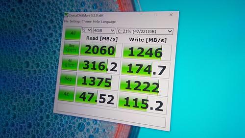 ผลการทดสอบความเร็ว SSD คือ แรงมาก