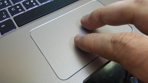 TouchPad ผิวแก้วของ HP Elitebook Folio G1