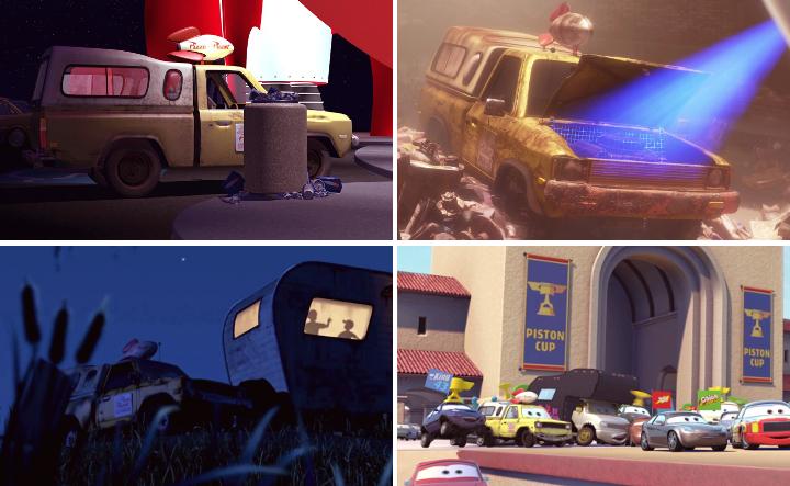 """Pizza Planet truck   Pixar-elokuvien """"easter eggit"""" - Disnerd dreams"""