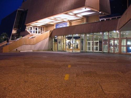 Palais des Festivals de Cannes at night