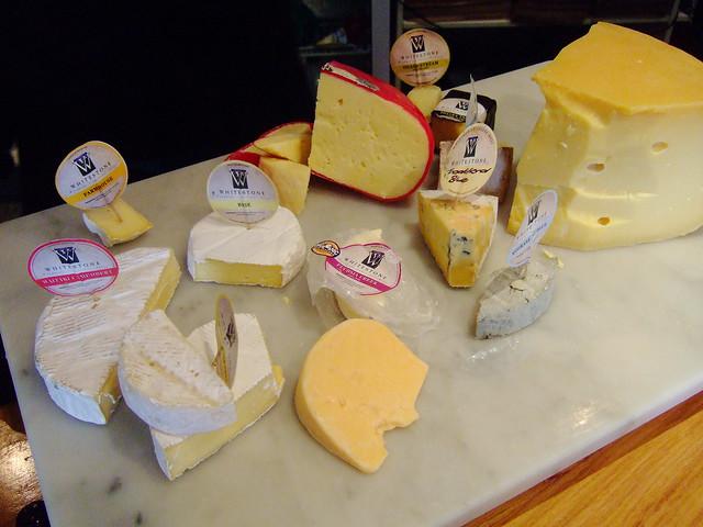 at long last -- cheese tasting!