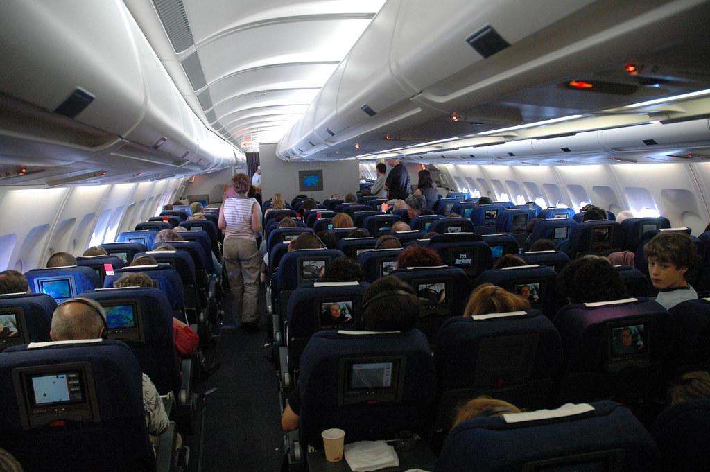 God rejse-etikette på flyveturen